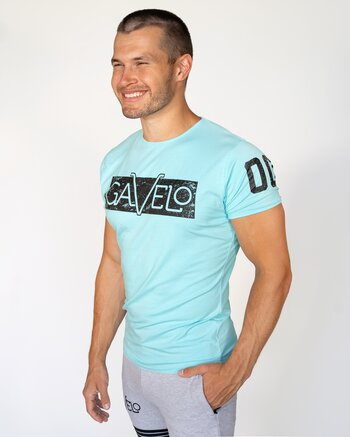 GAVELO Sports Tee Gulf Stream Blue