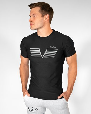 GAVELO Sniper Black Rashguard T-shirt