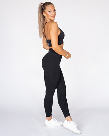 GAVELO Seamless Black Leggings