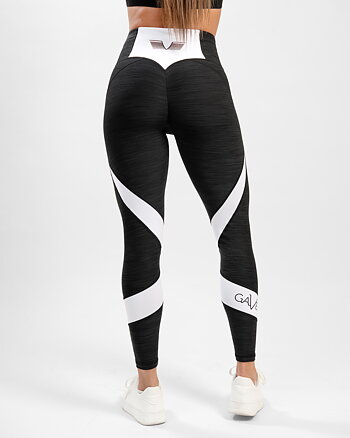 GAVELO Black & White  Swirl Leggings