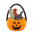 PET PLAY HUNDLEKSAK ORANGE PUMPA MED GODIS