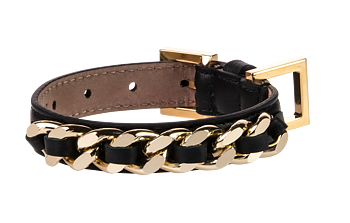 FRIDA FIRENZE CHAIN PICCOLO & GRANDE SVART