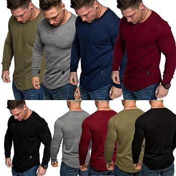 Sweatshirt longsleeve crew neck