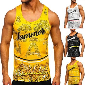 Linne printed Summer 3 olika färger