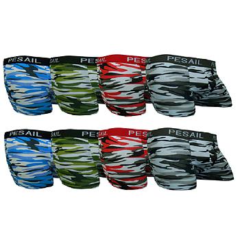 8-Pack Camouflage Pesail boxershorts