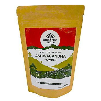 Ashwagandha Pulver Eko. 100g, Organic India