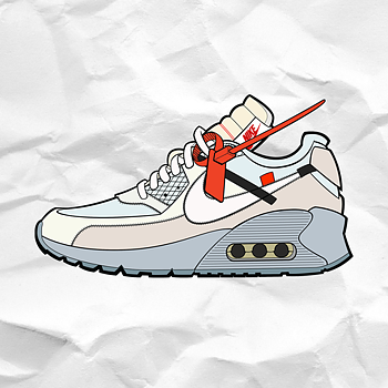 THE HYPED SOURCE - OFF-WHITE AM90 AIR FRESHENER