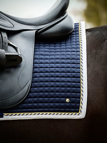 Dressage saddle pad, Navy