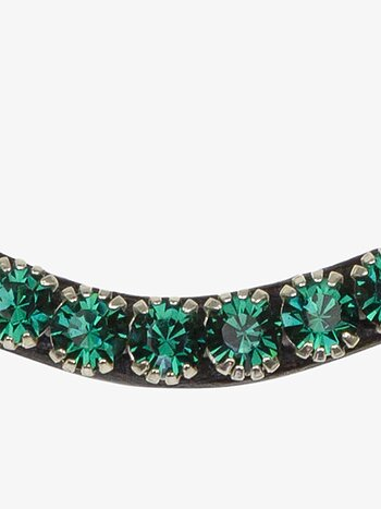 Browband Sleek Emerald
