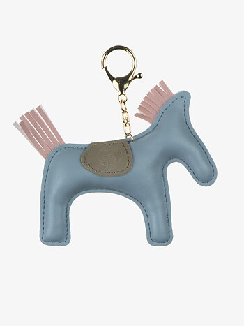 Horse Keychain Light Blue