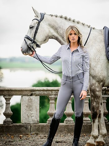 Breeches, Zoe, Grey