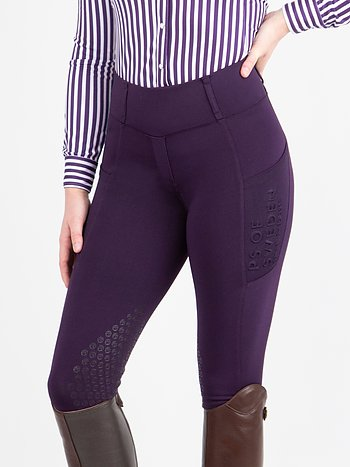 Reitleggings, Alicia, Plum