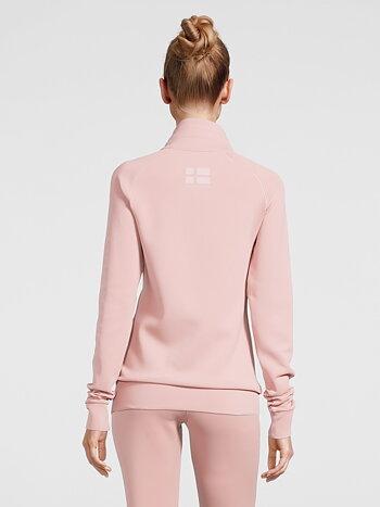 Zip-up Sweater, Jayne, Pink