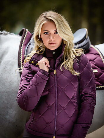 Riding Jacket, Gina, Wine