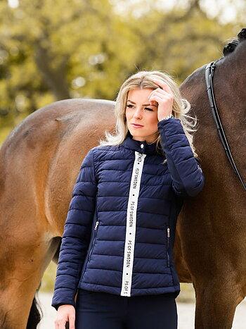 Riding jacket, Madeleine, Deep Sapphire