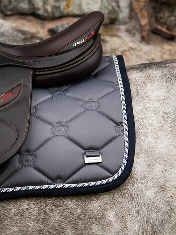 Jump Saddle Pad, Anthracite
