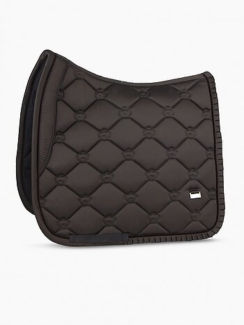 Dressage Saddle Pad, Coffee