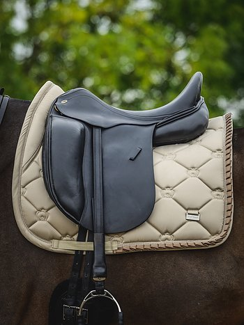 Dressage Saddle Pad, Sand