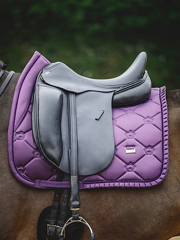 Dressage Saddle Pad, Plum