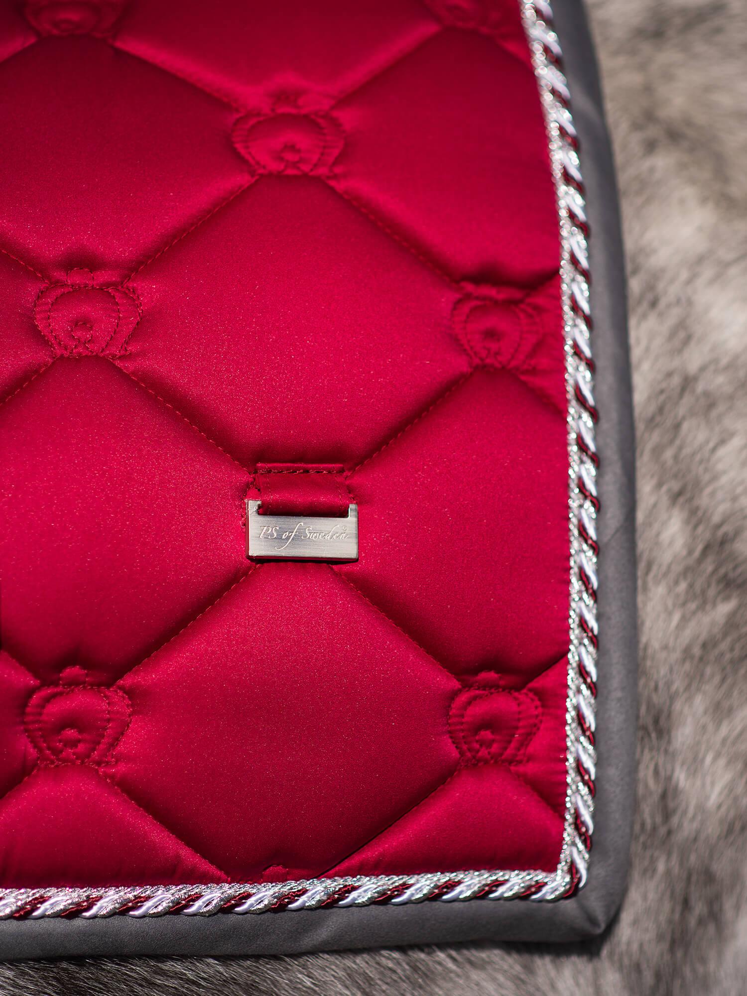 Crimson Red Saddle Pad