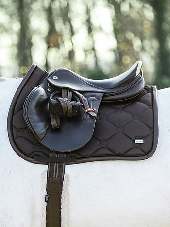 Jump Saddle Pad, Coffee