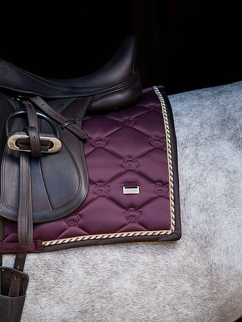 Dressage Saddle Pad, Wine