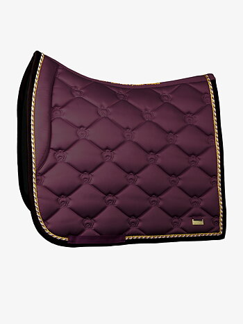 Dressage Saddle Pad, Wine, FULL