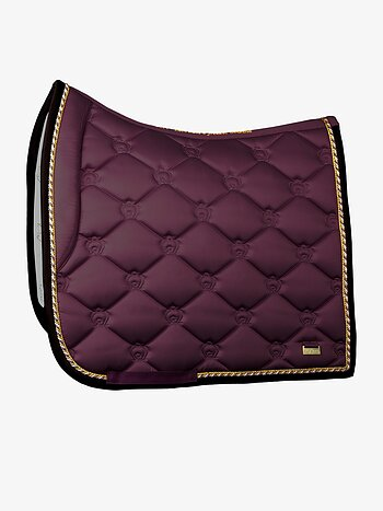 Dressage Saddle Pad, Wine, COB