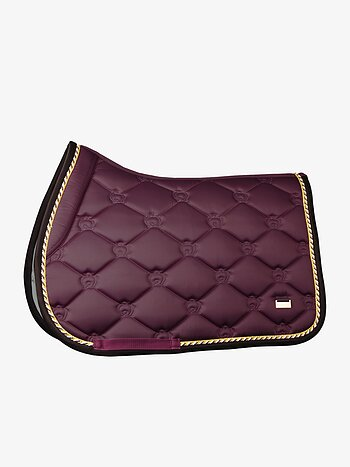 Jump Saddle Pad, Wine, FULL