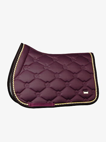 Jump Saddle Pad, Wine, COB