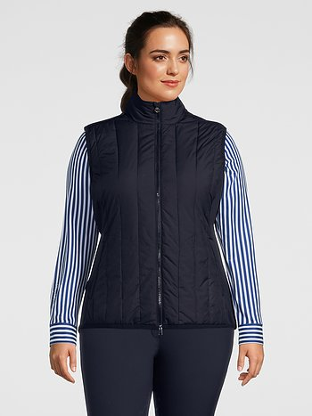 Padded vest, Bella, Navy