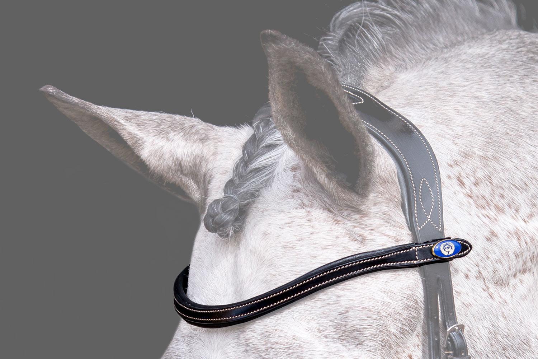 Pannband U-Shape White Stitching