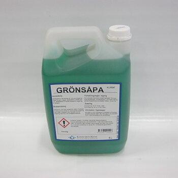 Såpa grön 5 liter