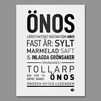 ÖNOS poster
