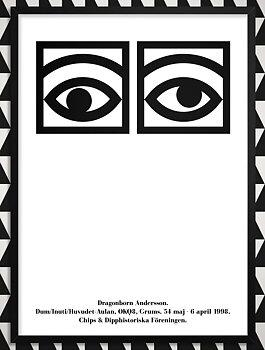DRAGONBORN ÖGON poster