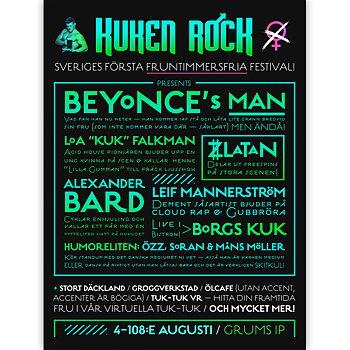 KUKEN ROCK poster