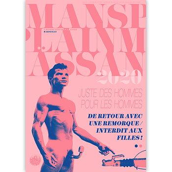 Mansplainmässan Marseille poster