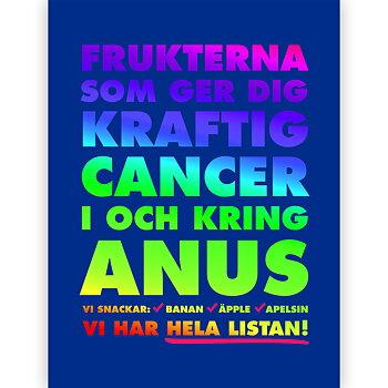 FRUKTANUS poster