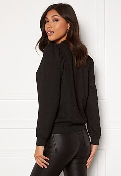 SIMONE PUFF JACKET - BLACK