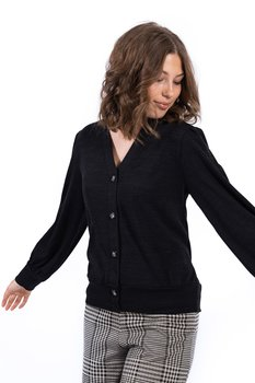 GEMINI CARDIGAN BLACK