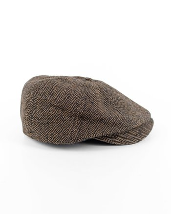 Brixton - Brood Snap Cap Brown/Khaki