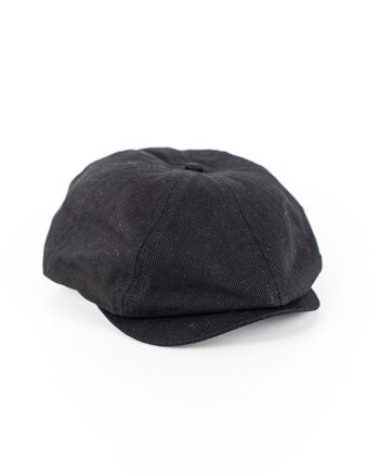 Brixton - Brood Snap Cap Black