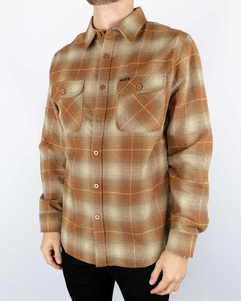 Brixton - Bowery Flannell Copper