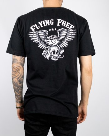 Jernhest - Eagle Tee Black