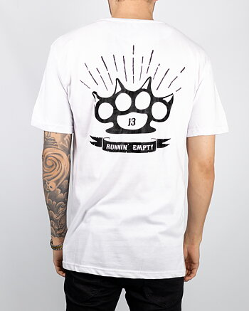Jernhest - Knuckle Tee White