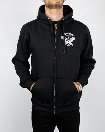 Jernhest - Spark Zip Hood Black
