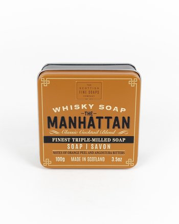 The Scottish Fine Soaps Company - The Manhattan Whisky Soap
