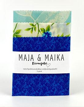 Sommaravslutning- bivaxfolie 3-pack