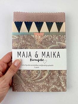 Rosainka- bivaxfolie 3-pack
