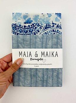 Vi som älskar blått- bivaxfolie 3-pack